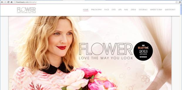 FlowerBeauty by drew Barrymore